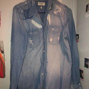 Express jean shirt